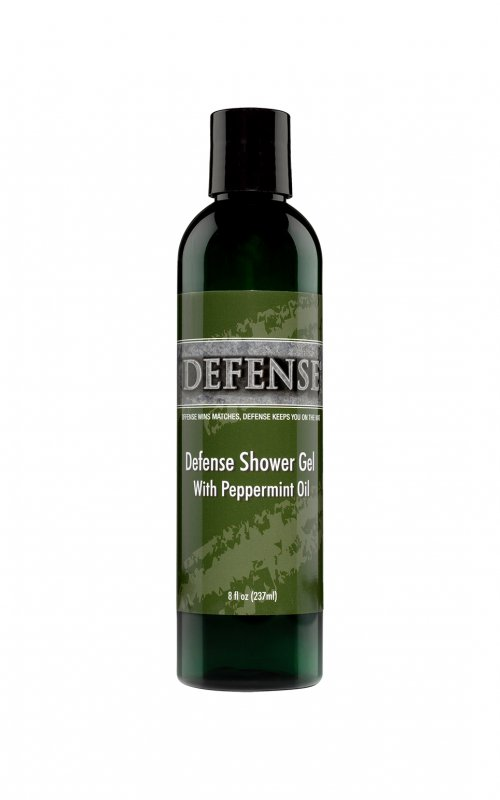Defense Peppermint Shower Gel